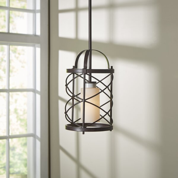 Farrier 1-Light Drum Chandelier by Darby Home Co