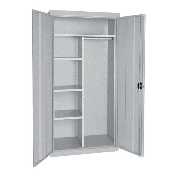 Combination 2 Door Storage Cabinet by Sandusky Cabinets