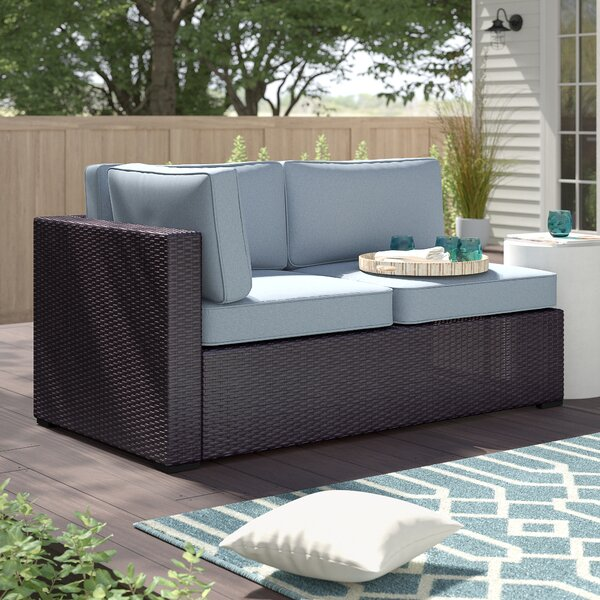 Seaton Loveseat with Cushions by Sol 72 Outdoor
