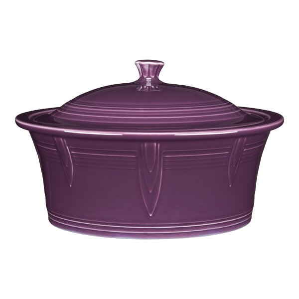 Round Covered Casserole by Fiesta