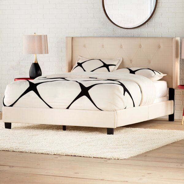 Johson Queen Upholstered Standard Bed by Brayden Studio