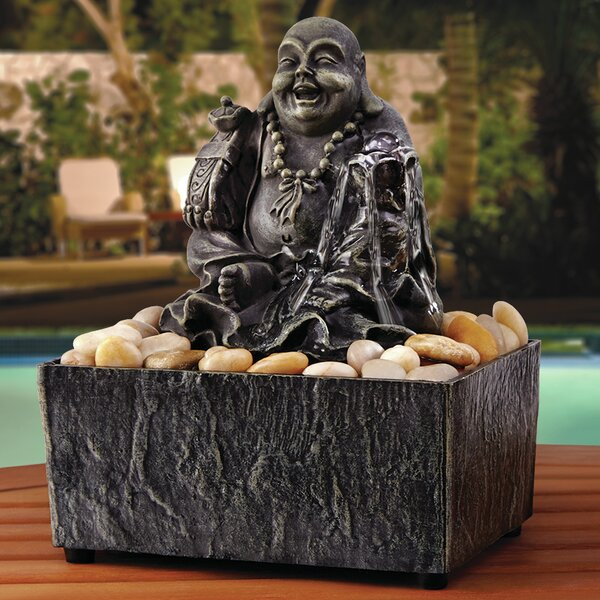 Lucky Buddha Fountain by Order Home Collection