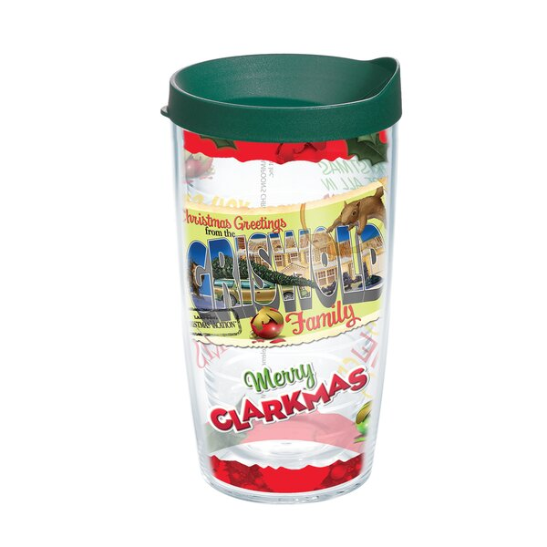 Merry Clarkmas 16 oz. Plastic Travel Tumbler by Tervis Tumbler