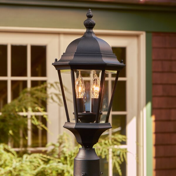 Edgartown Outdoor Post Lantern by Birch Lane™