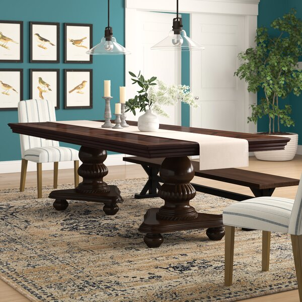 Landers Extendable Dining Table by Astoria Grand Astoria Grand