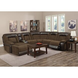 Fenwick Landing Reclining Sectional Red Barrel Studio