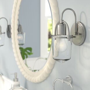 Compare Bolton 1-Light Armed Sconce By Beachcrest Home