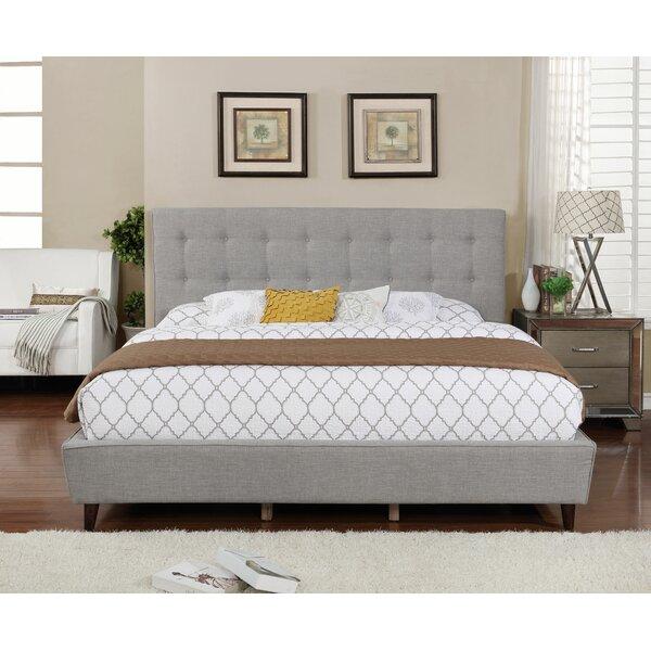 Burkeville Upholstered Platform Bed by Winston Porter