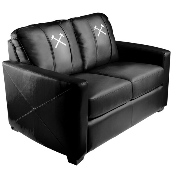 West Ham United Hammers Logo Loveseat by Dreamseat