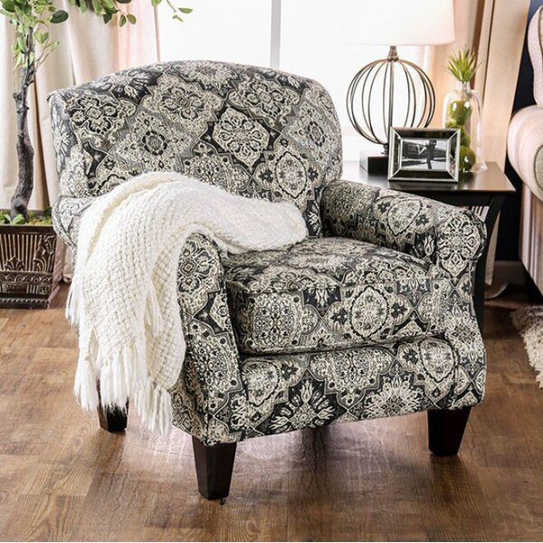 Pearson Floral Armchair by Canora Grey