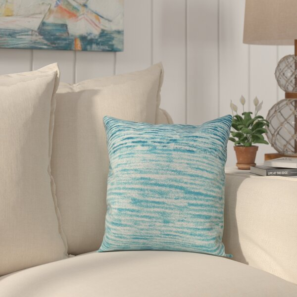 Rocio Ocean View Throw Pillow by Beachcrest Home