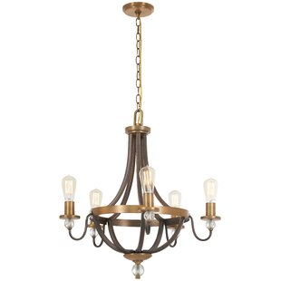 Online Reviews Mauer 5-Light Empire Chandelier By Gracie Oaks