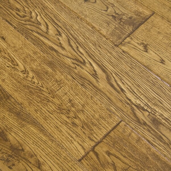 Aegean 5 Engineered Oak Hardwood Flooring in Obsidian by Albero Valley