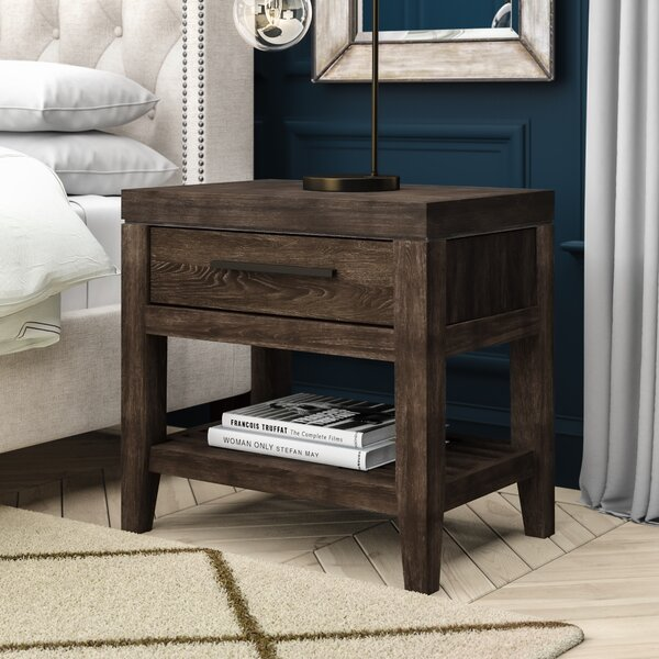 Docia 1 Drawer Nightstand by Greyleigh