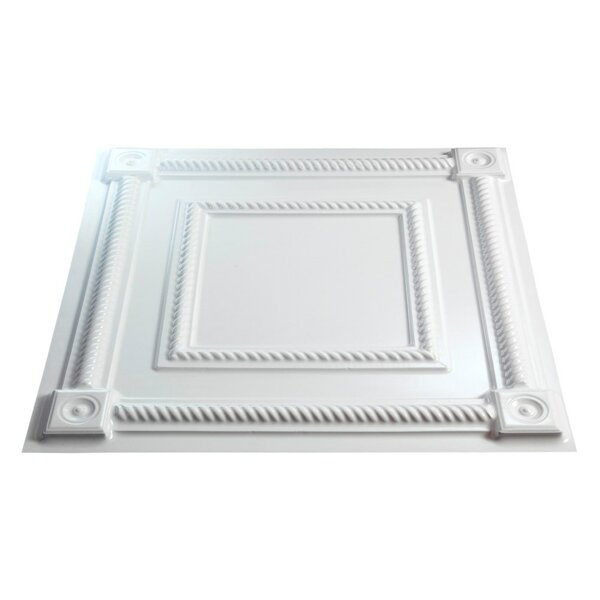 Coffer 2 ft. x 2 ft. Lay-In Ceiling Tile in Gloss