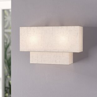 Reviews Dundee 2-Light Flush Mount By Ivy Bronx