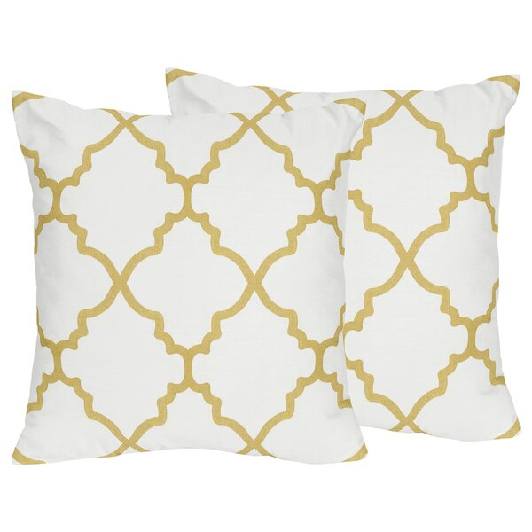 Ava Throw Pillow (Set of 2) by Sweet Jojo Designs