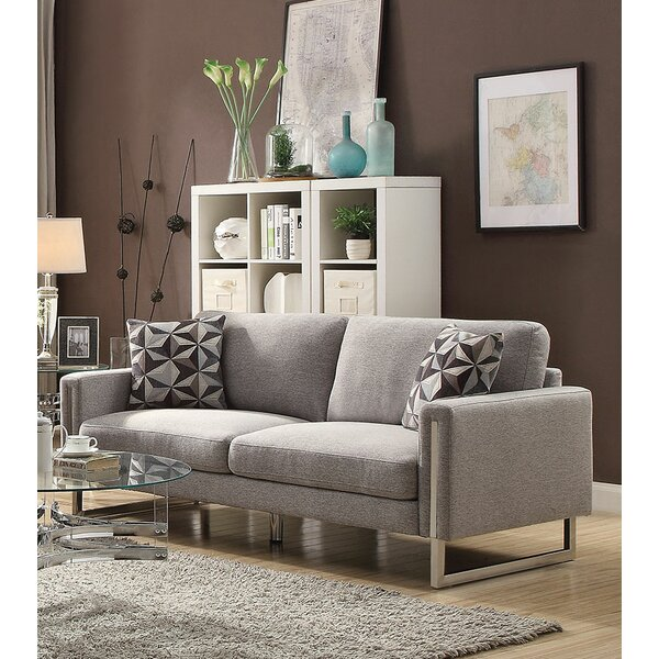 Review Roselyn U-Shaped Steel Legs Sofa