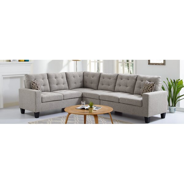 Averie Reversible Sectional by Winston Porter