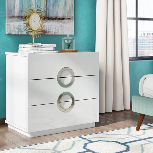 Austin 3 Drawer Standard Dresser by Wade Logan