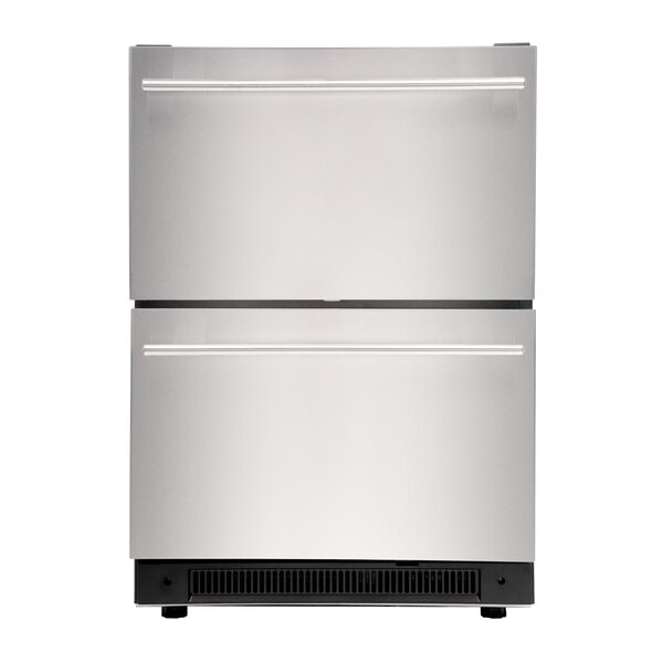 24-inch 5.4 cu. ft. Undercounter Compact Refrigerator by Haier