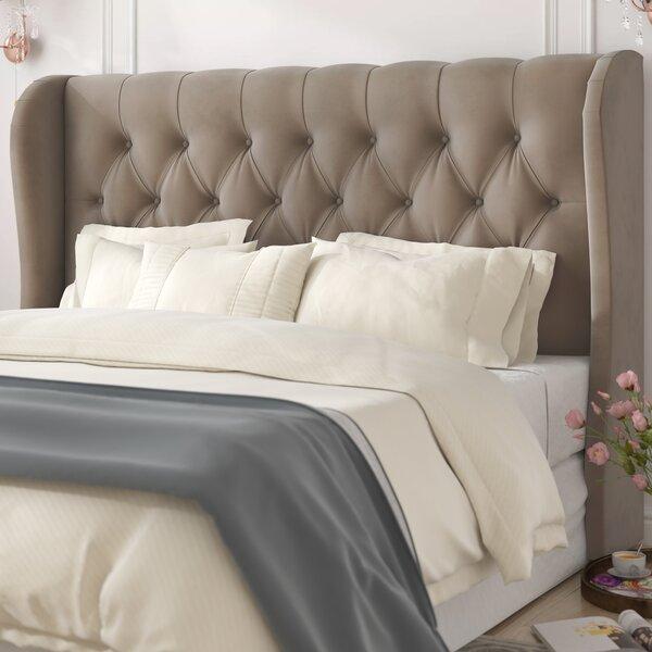 Giada Tufted Upholstered Wingback Headboard by Willa Arlo Interiors Willa Arlo Interiors