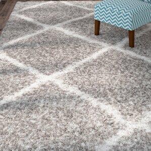 hampstead gray shag area rug - Grey Shag Rug