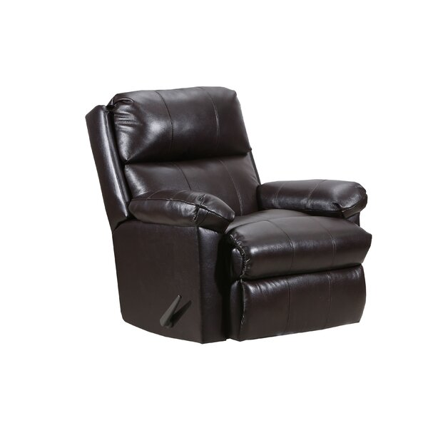 Delsur Leather Manual Recliner By Red Barrel Studio