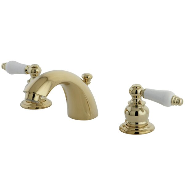 Elizabeth Widespread faucet Bathroom Faucet with Drain Assembly by Elements of Design