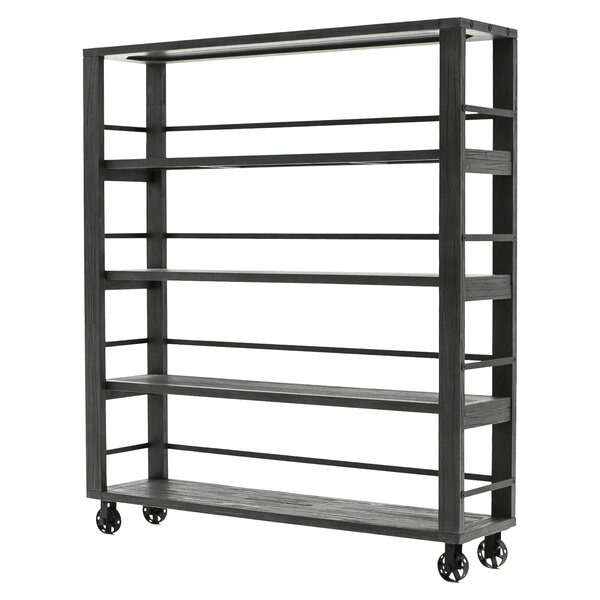 Peterson Etagere Bookcase by 17 Stories
