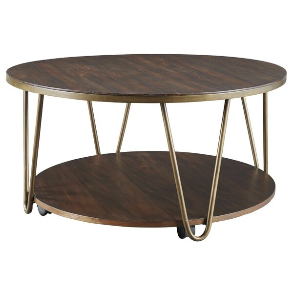 Benghauser Coffee Table With Storage By Wrought Studio