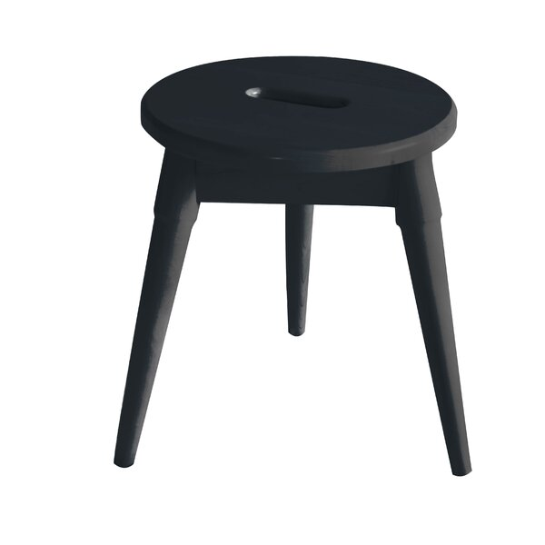 Ardell Round Tripod Accent Stool by Ebern Designs