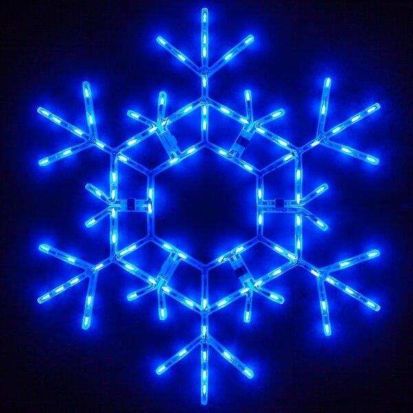 LED Folding Snowflake by The Holiday Aisle