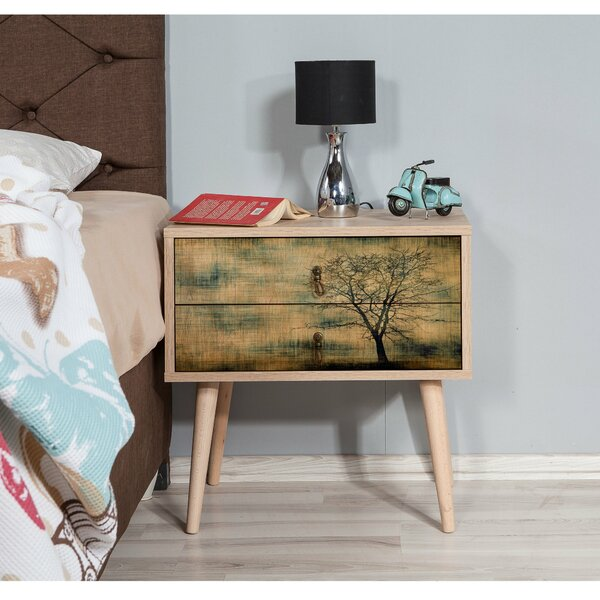 Sarmiento 2 Drawer Nightstand by Corrigan Studio