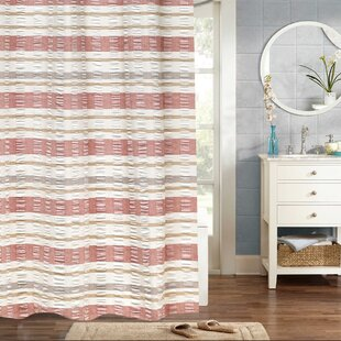 Dougherty Baltic Jaqcuard 100% Cotton Shower Curtain ByCharlton Home