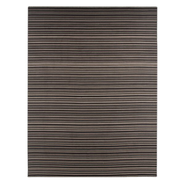 Eilers Ebony Area Rug by Wrought Studio