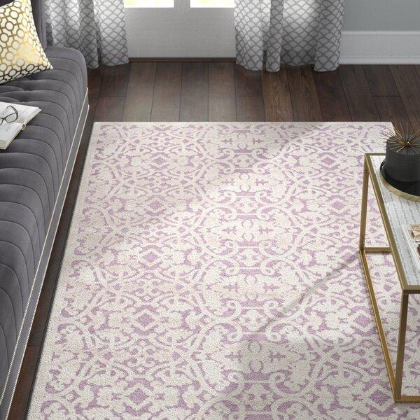 Bilboro Mauve/Violet Area Rug by Willa Arlo Interiors