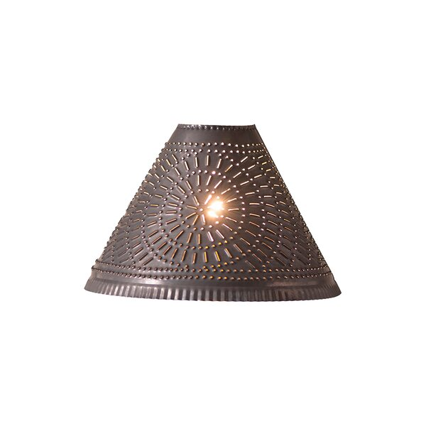 Locke Chisel 12.5 Metal Empire Lamp Shade by August Grove