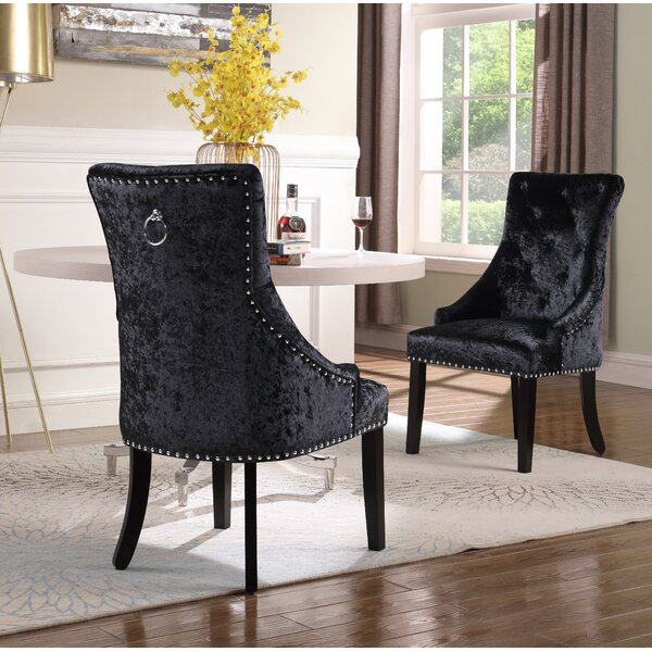 Sizemore Upholstered Dining Chair (Set of 2) by Everly Quinn