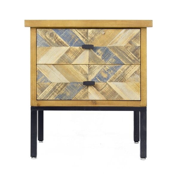 Dev 2 Drawer Accent Chest by Union Rustic Union Rustic