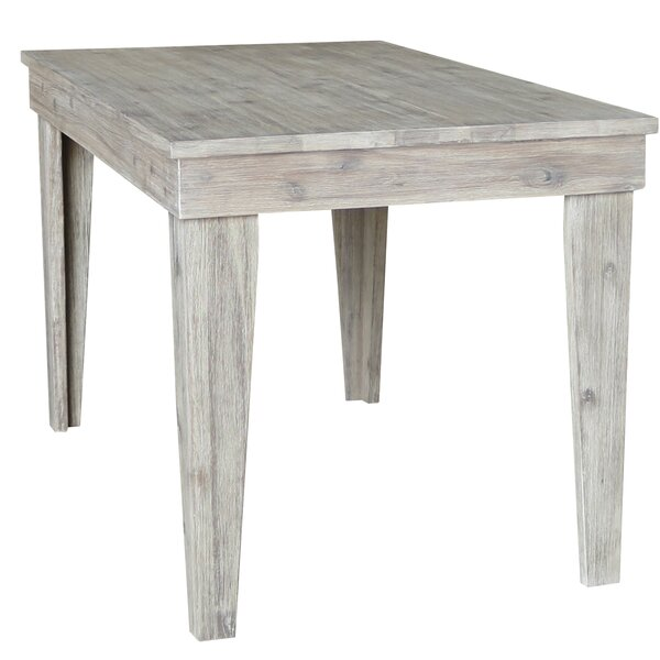Galey Solid Wood Dining Table by Gracie Oaks