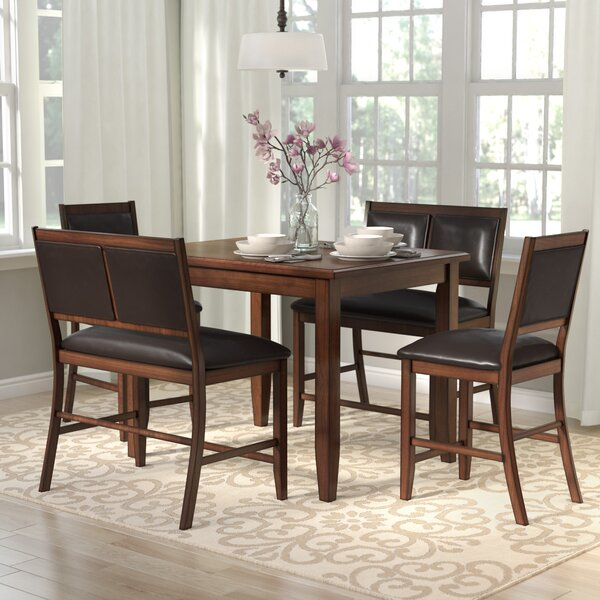Chavers 5 Piece Counter Height Dining Set by Andover Mills Andover Mills