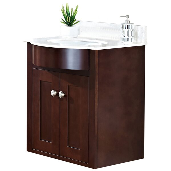 Kester Transitional 24 Single Bathroom Vanity Set by Darby Home Co