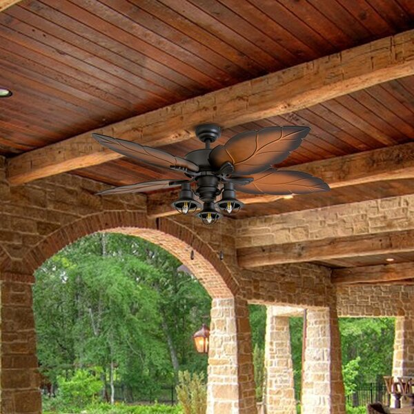 52 Wrightsville 5 Blade LED Ceiling Fan by Bay Isle Home