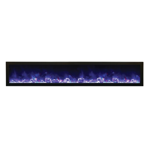 Atoll Wall Mounted Electric Fireplace by Orren Ell