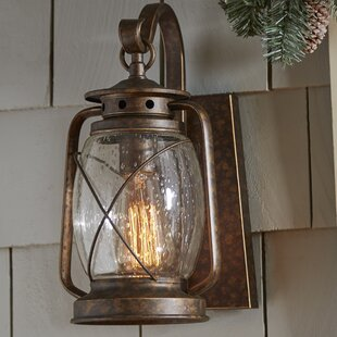 Bendel 1-Light Outdoor Wall lantern By Breakwater Bay