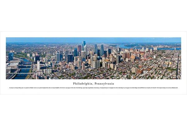 US skyline Philadelphia, Pennsylvania by James Blakeway Photographic Print by Blakeway Worldwide Panoramas, Inc