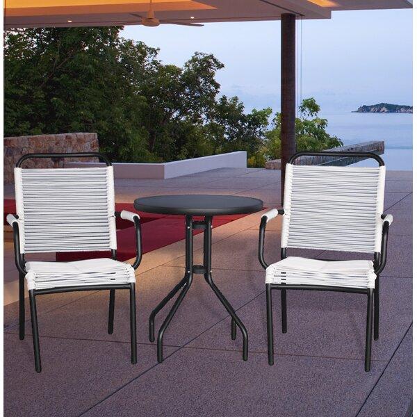 Pasta 3 Piece Conversation Set by Ostrich Chair