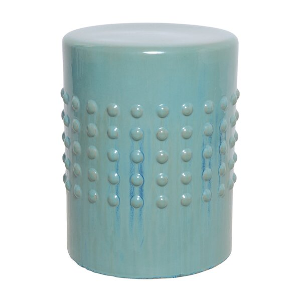 Rylen Stud Garden Stool by Latitude Run