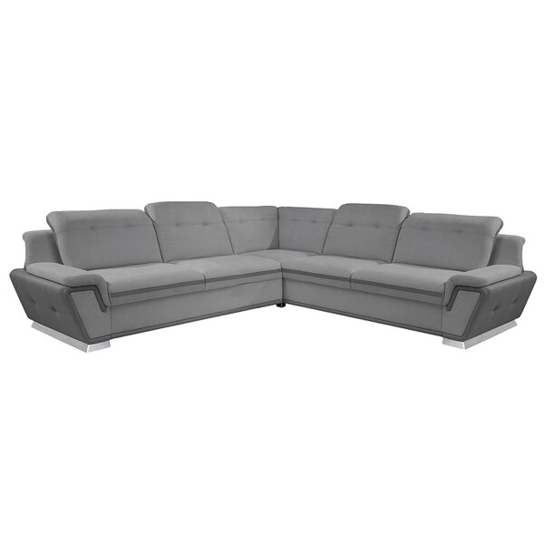 Adolfus Sleeper Sectional By Brayden Studio